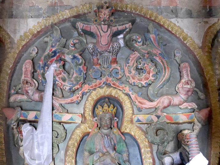 vairocana shrine ladakh