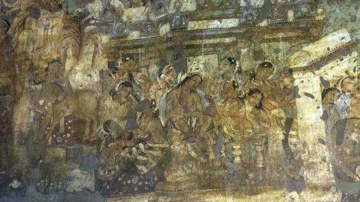 The Positive And Negative Spaces Of Ajanta Caves Eva Lee